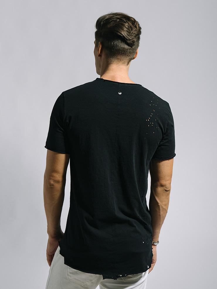 camiseta de hombre manga corta ibiza stones