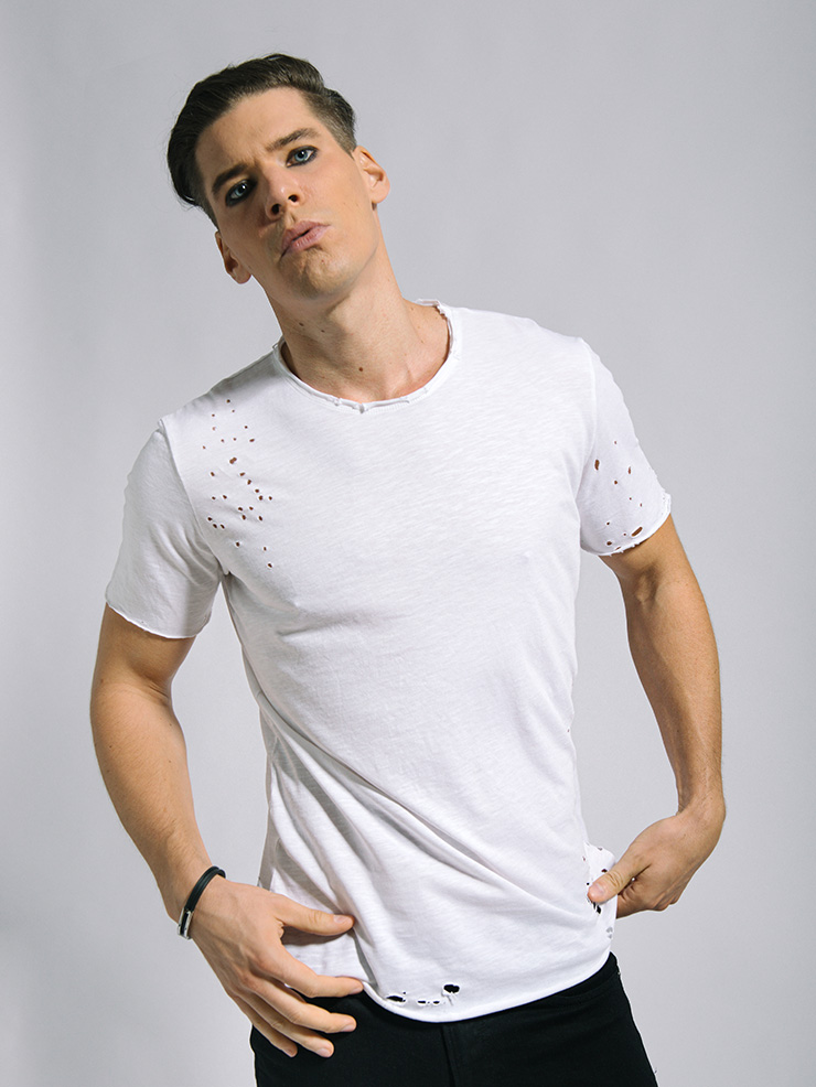 ibiza stones men's short sleeve t-shirt