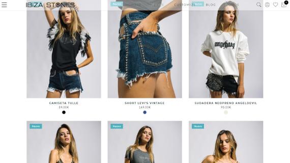 Nueva tienda online de ropa en Ibiza